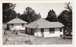 Wisconsin Birchwood Dalens Moden Cottages Real Photo sk4221