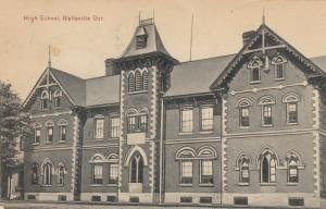 BELLEVILLE , Ontario, Canada, 1908 ; High SChool