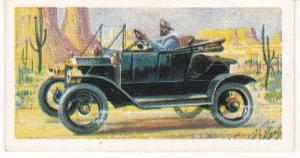 Trade Cards Brooke Bond Tea Transport Through The Ages No 31 Early Motor Car