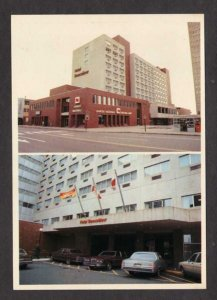 NB Hotel Beausejour Moncton New Brunswick Canada Carte Postale Postcard PC