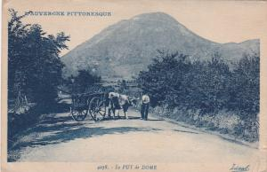 L'Auvergne Pittoresque, Oxen Cart, Le Puy De Dome, France, 1900-1910s