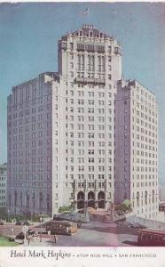 Hotel Mark Hopkins, Atop Nob Hill, San Francisco, California, PU-1950