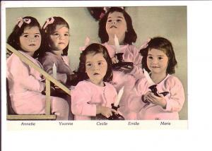 World Famous Dionne Quintuplets , Candles, Callander, Ontario Canada, Quints