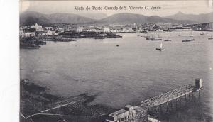 St Vincent, CAPE VERDE Islands; Port view, 00-10s