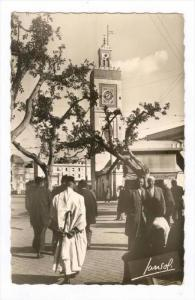RP  ALGER , Place du Gouvernment et Mosquee Djemaa Djedid, PU-1956
