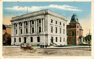 VT - Burlington. Post Office and Courthouse