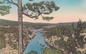 Minnesota Taylors Falls Upstream Lookout Mountian Dalles Of The St Croix Albe...