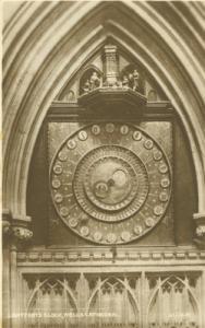 United Kingdom Lightfoot's Clock, Wells Cathedral unused ...