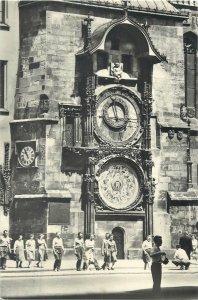 Postcard Czech Republic Prague Old Town Astronomical Clock