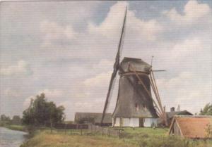 Watermill Watermolen Van De Naardermeerpolder Te Muiden