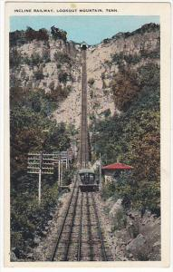 Tennessee Chattanooga Incline Railway Lookout Mountain 1930