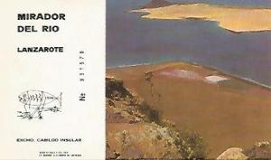 POSTAL 55858: LANZAROTE. Mirador del Rio