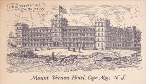 New Jersey Cape MayHistorical Cape May Mount Vernon Hotel