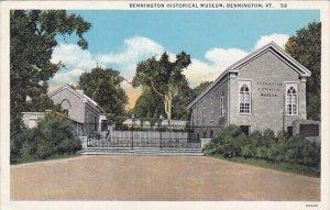 Bennington Historical Museum Bennington Vermont