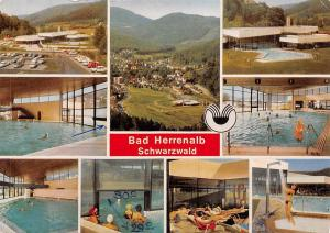 Bad Herrenalb Schwarzwald Thermalbad Schwimmbad Auto Vintage Cars Panorama