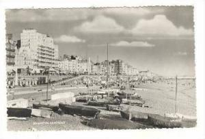 RP,Boats On Beach,Sunbathing,Brighton,England,1959