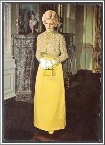 Patricia Nixon Inaugural Ball Gown - Smithsonian Institute - [MX-299]