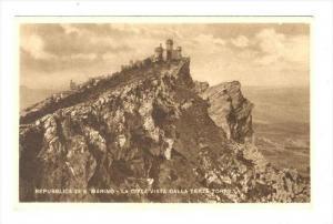 Repubblica di S. Marino - La Citta Vista Dalla Terza Torre, 1910s