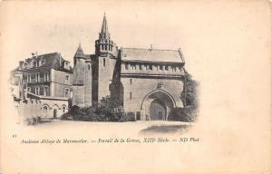 France Ancienne Abbaye de Marmoutier, Portail de la Grosse