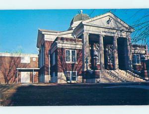 Unused Pre-1980 CHURCH SCENE Fayette Missouri MO A6896