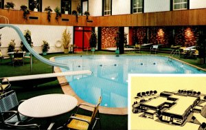 Minnesota Albert Lea Kahler's Inn Towne Motel