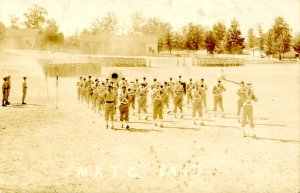 MS - Camp Shelby, 1939-45. Medical Replacement Training Center Band.  RPPC