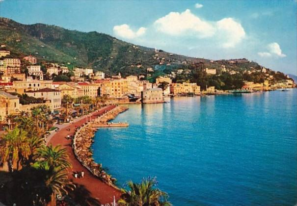 Italy Rapallo Panoramic View 1959