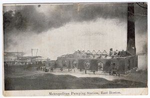 East Boston, Metropolitan Pumping Station