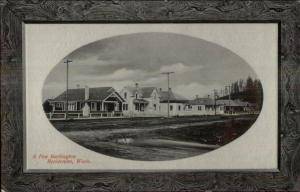 Burlington WA Homes c1910 Postcard
