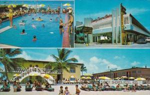 Florida Miami Beach Sandy Shores Motel With Pool 1970
