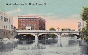AURORA, Illinois, 00-10s; West Bridge across Fox River