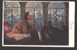 115038 Frederic CHOPIN Polish COMPOSER PIANIST old ART NOUVEAU