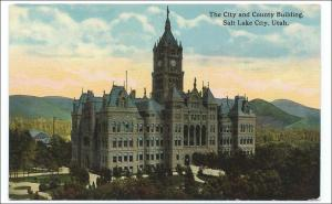 UT - City & County Bldg.  Salt Lake City