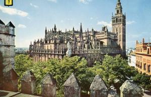 Spain - Alcazar, The Cathedral
