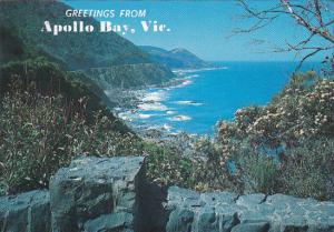 Great Ocean Road at Mount Defiance Shpowing Apollo Bay Australia
