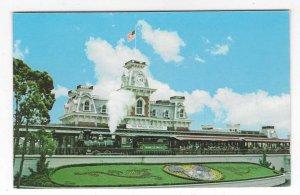 1970's The Walt Disney World Railroad, Magic Kingdom Chrome Postcard
