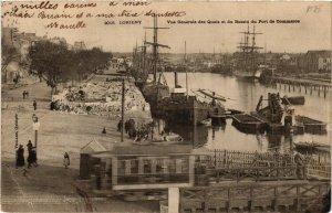 CPA LORIENT - Vue générale des Quais et du Bassin du Port de Commerces (431080)