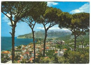 Italy, SORRENTO, Panorama, General View, used Postcard