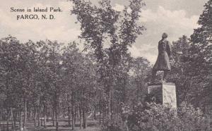 North Dakota Fargo Scene in Island Park