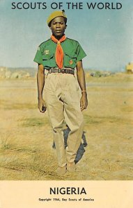 Scouts Post Card Scouts of the World Nigeria Postcard Unused