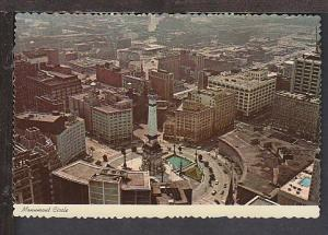 Monument Circle Indianapolis IN Postcard BIN