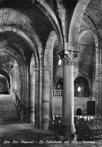 Italy San Leo (Pesaro) La Cattedrale del 1173 Interno Cathedral