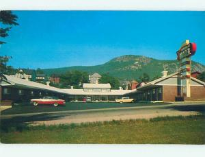 Pre-1980 OLD CARS & TRAVELERS MOTEL Berlin New Hampshire NH M2704