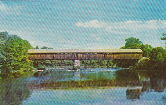 Blair Covered Bridge Campton New Hampshire
