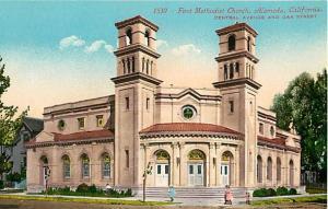 D/B First Methodist Church Alameda California CA Central Ave