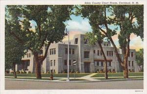 Eddy County Court House Carlsbad New Mexico Curteich