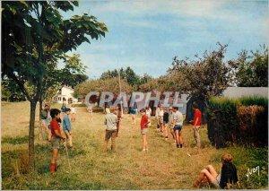 Postcard Old Tarnos (Landes) EC of the Holiday Center RATP Blades