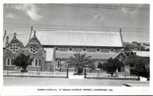 australia, LAUNCESTON, Tasmania, Roman Catholic Church (1950s) Murray Views 72