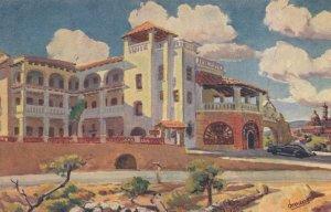 Posada De La Mision Mission Inn Mexican Painting Postcard