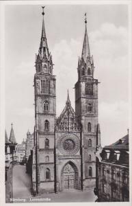Germany Nuernberg Lorenzkirche Real Photo